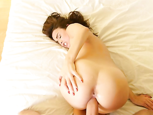 Teen Loves Her Dildo And His Long Cock