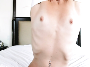 Taking A Petite Teen Beauty To Bed And Fucking Her Hard