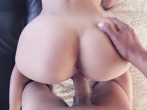 Painting Those Pretty Ass Cheeks With A Cumshot