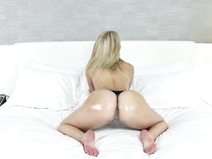 Stripping Curvy Teen Takes On His Big Hard Dick