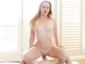 Teasing Her Pussy And Her Man To Get Him Hard For Her