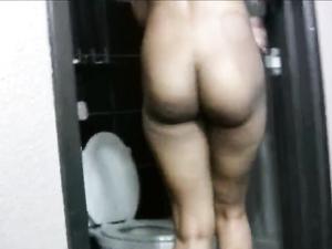 Cute Ebony 18 Year Old Makes A White Guy Cum