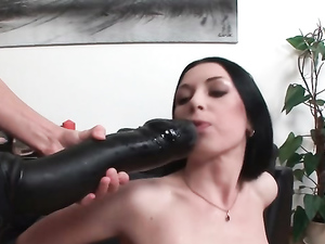 Extreme Anal Stretching For A Breathtaking Lesbian Slut