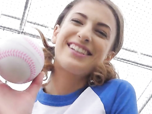 Softball Sweetheart And The Big Dick Guy Get It On