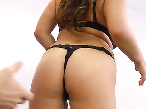 Great Tits On A Gorgeous Girl Sucking Your Cock