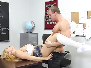 Hot Booty On His Dick Taking Schoolgirl Slut
