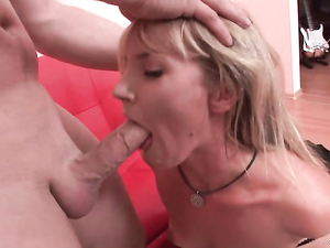 Arousing Rough Sex With A Naughty Blonde Slut