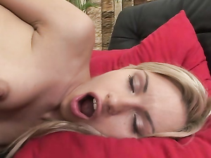 Ass Up Teen Takes A Lesbian Anal Fisting
