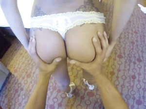 Spraying A Slut With His Cum After Great Sex