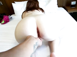 Tiny Redheaded Teen Fucked In Her Tight Pink Pussy