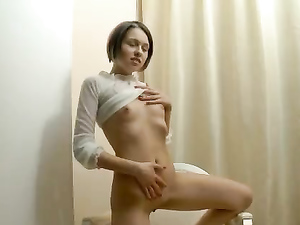 Teasing Solo Girl Loves Showing Her Young Pussy