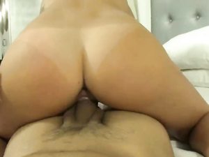 Cunt Of Pornstar Slut Keisha Grey Rides His Dick