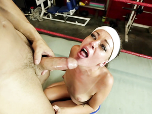 Stella Daniels Fucked In The Boxing Ring